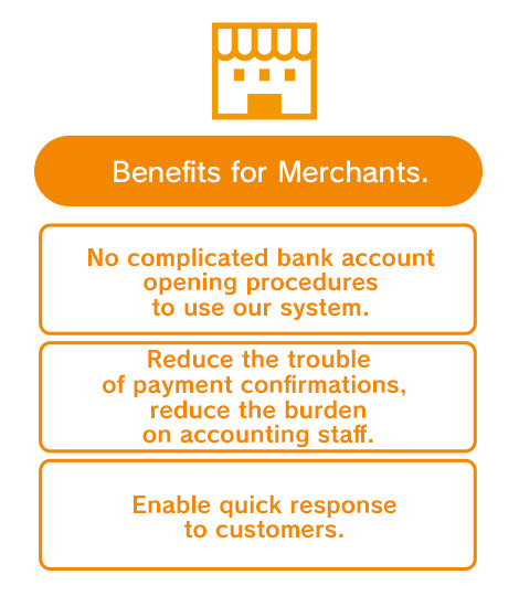 Benefits for Merchants