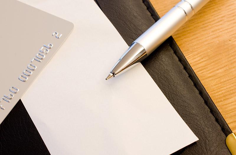 About handwritten slips